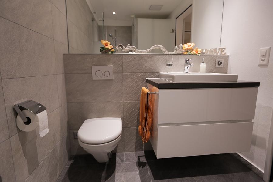 Umbau dachstockwohnung binz galerie individualbau ag martin pfister - Badezimmer wandplatten ...