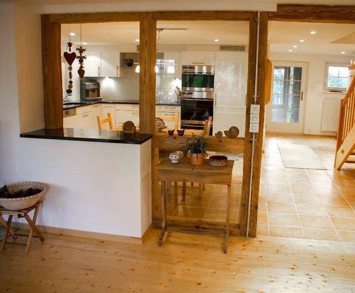 umbau küche wohnzimmer:Umbau EFH in Bubikon – Umbauten – Individualbau AG – Martin Pfister