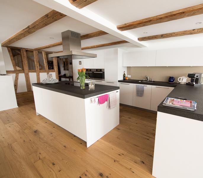 Küchensanierung in Bauernhaus - Küchen - Individualbau AG – Martin Pfister