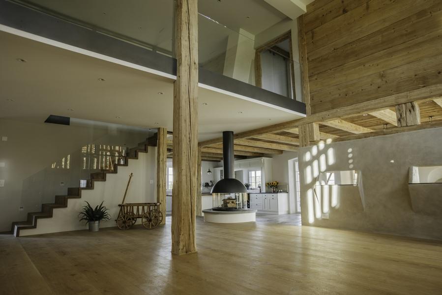 Scheune ausbauen  Ausbau Scheune in Oetwil am See - Umbauten - Individualbau AG ...